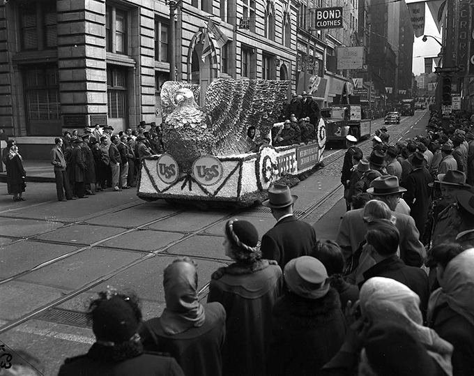 U.S. Steel Parade Float
