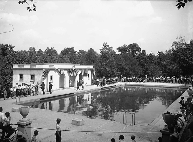 Retrographer Schenley Park Pool