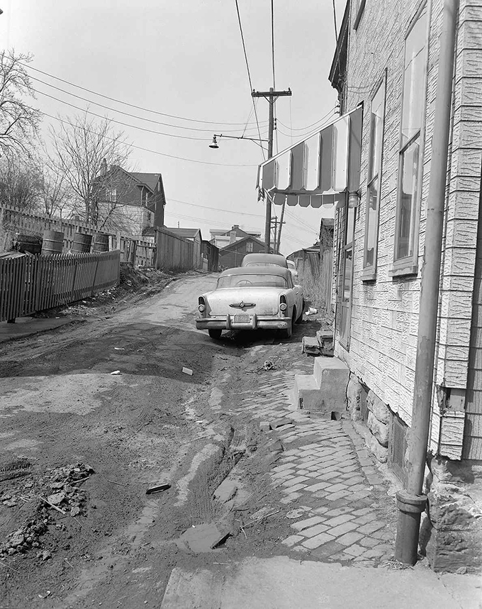 Car Parked in Alley