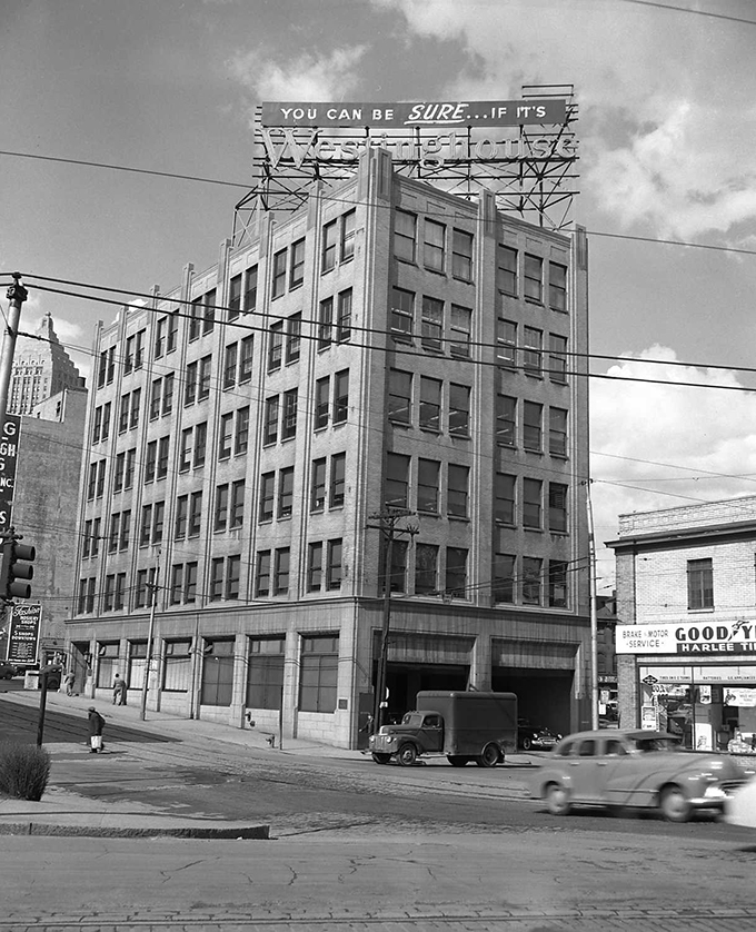 Downtown S Foreman Clark Building To Become 124: Rust Engineering Company Office Building
