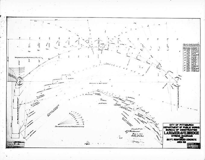 retrographer larimer avenue bridge engineering plan. Black Bedroom Furniture Sets. Home Design Ideas